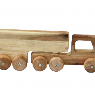 Solid Wooden Truck 1