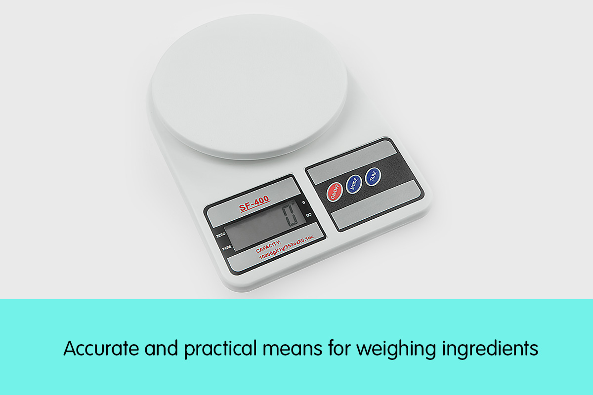 Digital Kitchen Scales 10kg / 1gm Electronic Food Scale 2