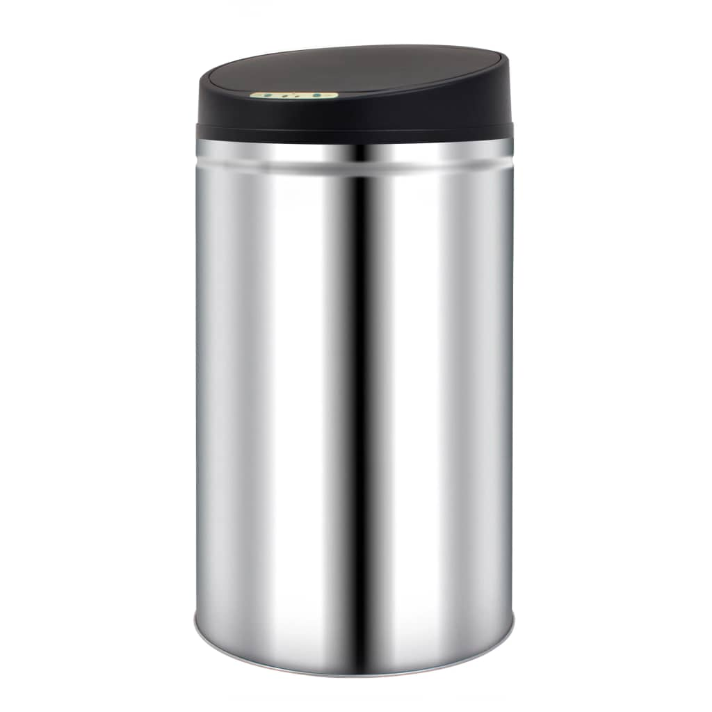 Automatic Sensor Dustbin Garbage Bin 42 L Stainless Steel