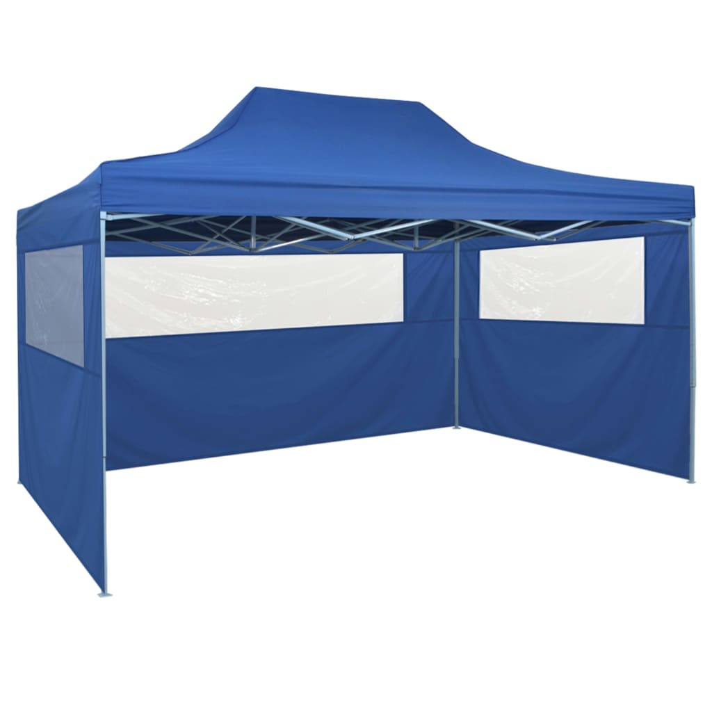 Foldable Tent Pop-Up with 4 Side Walls 3×4