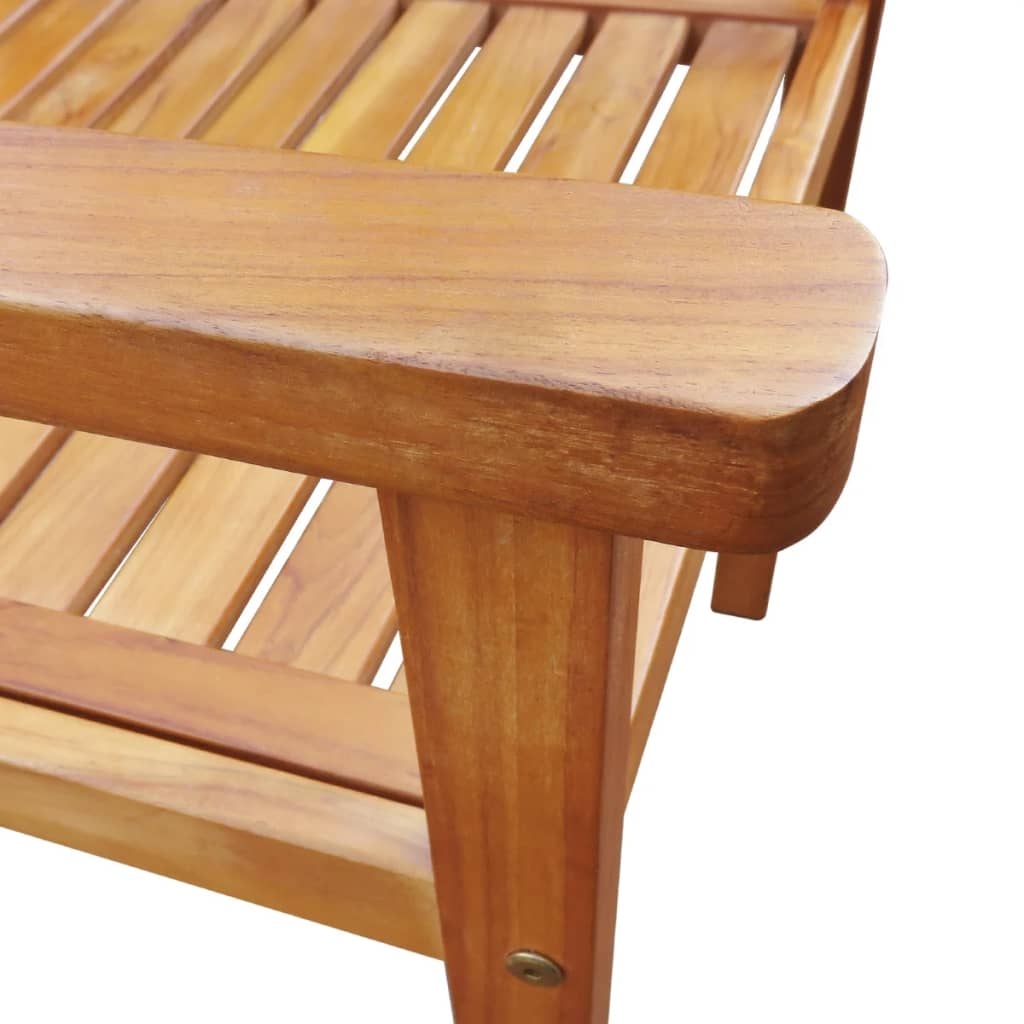 5 Piece Outdoor Dining Set Solid Acacia Wood 6