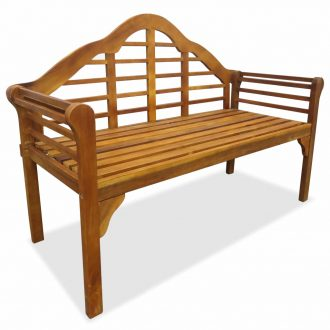Garden Bench 135 cm Solid Acacia Wood 1