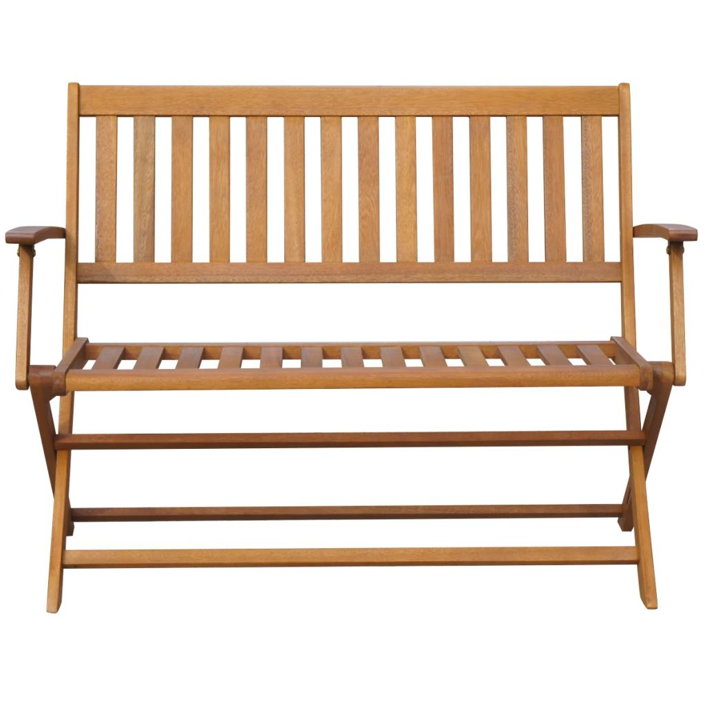Folding Garden Bench 120 cm Solid Acacia Wood 2