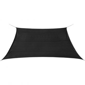 Sunshade Sail HDPE Square 2×2 m Anthracite 1