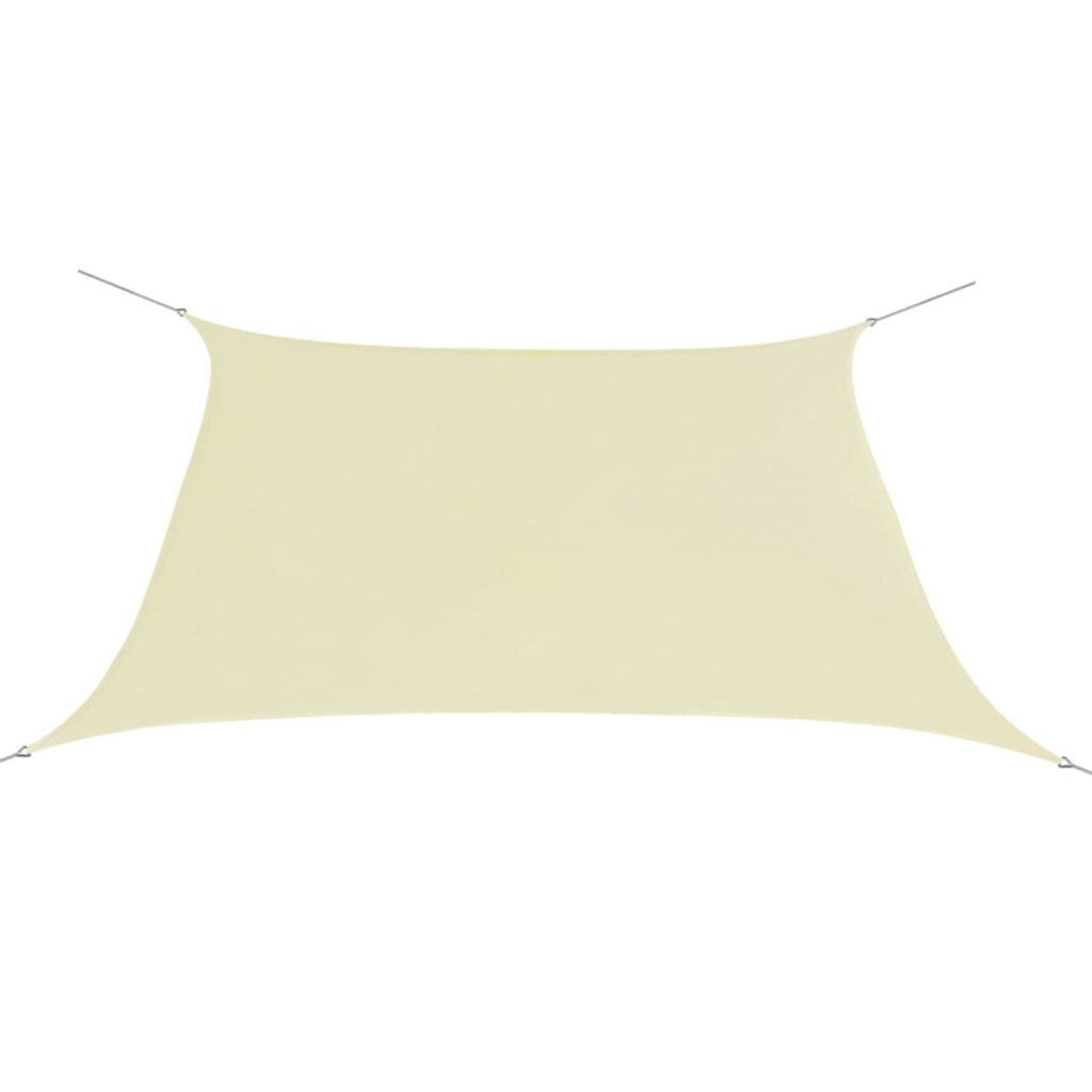 Sunshade Sail Oxford Fabric Square 2x2 m Cream