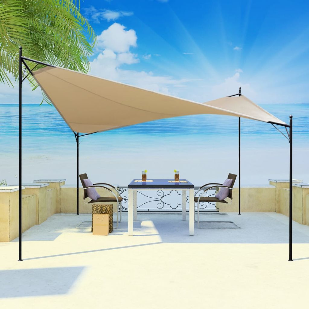 Shade Sail Gazebo 3×3 m 1