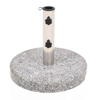 Parasol Base Granite Round 22 kg 1