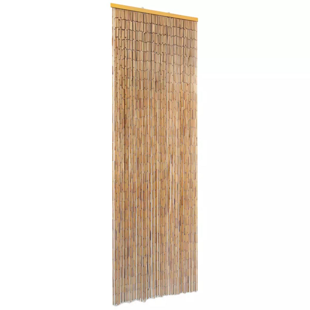 Insect Door Curtain Bamboo 56×185 cm 1