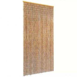 Insect Door Curtain Bamboo 90×220 cm 1