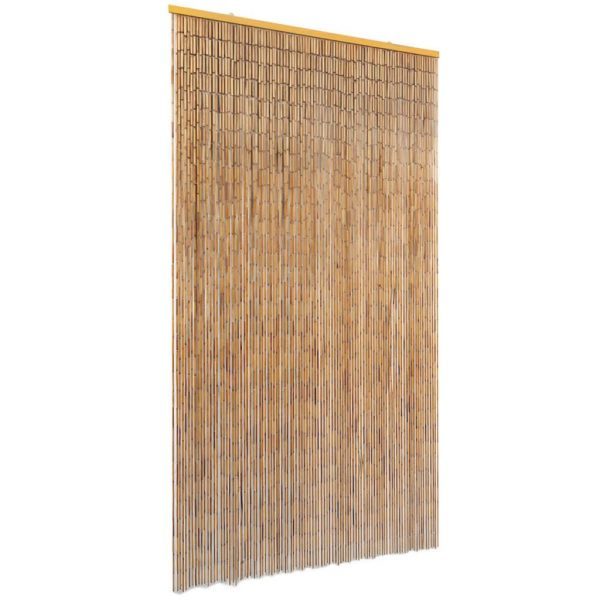 Insect Door Curtain Bamboo 100×200 cm 1