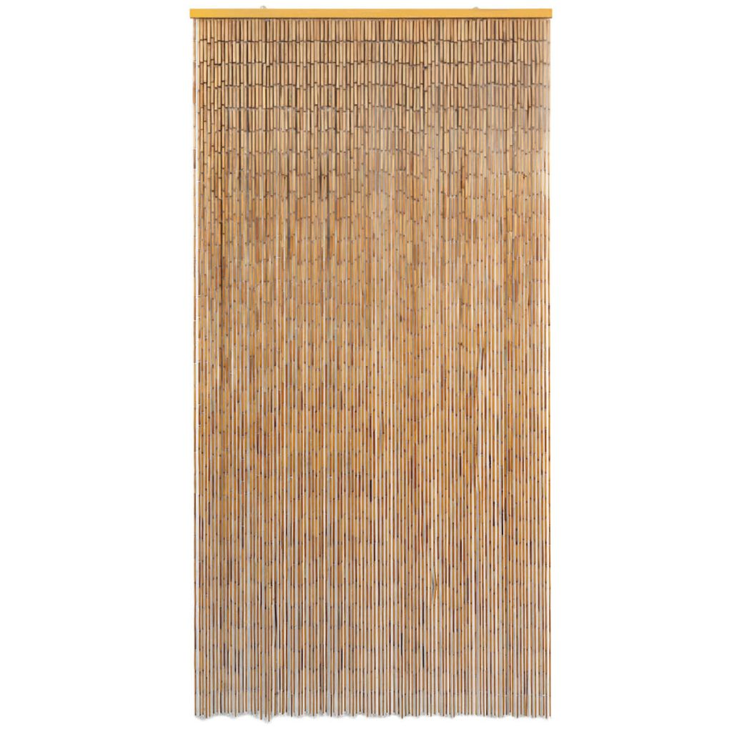 Insect Door Curtain Bamboo 100×200 cm 2