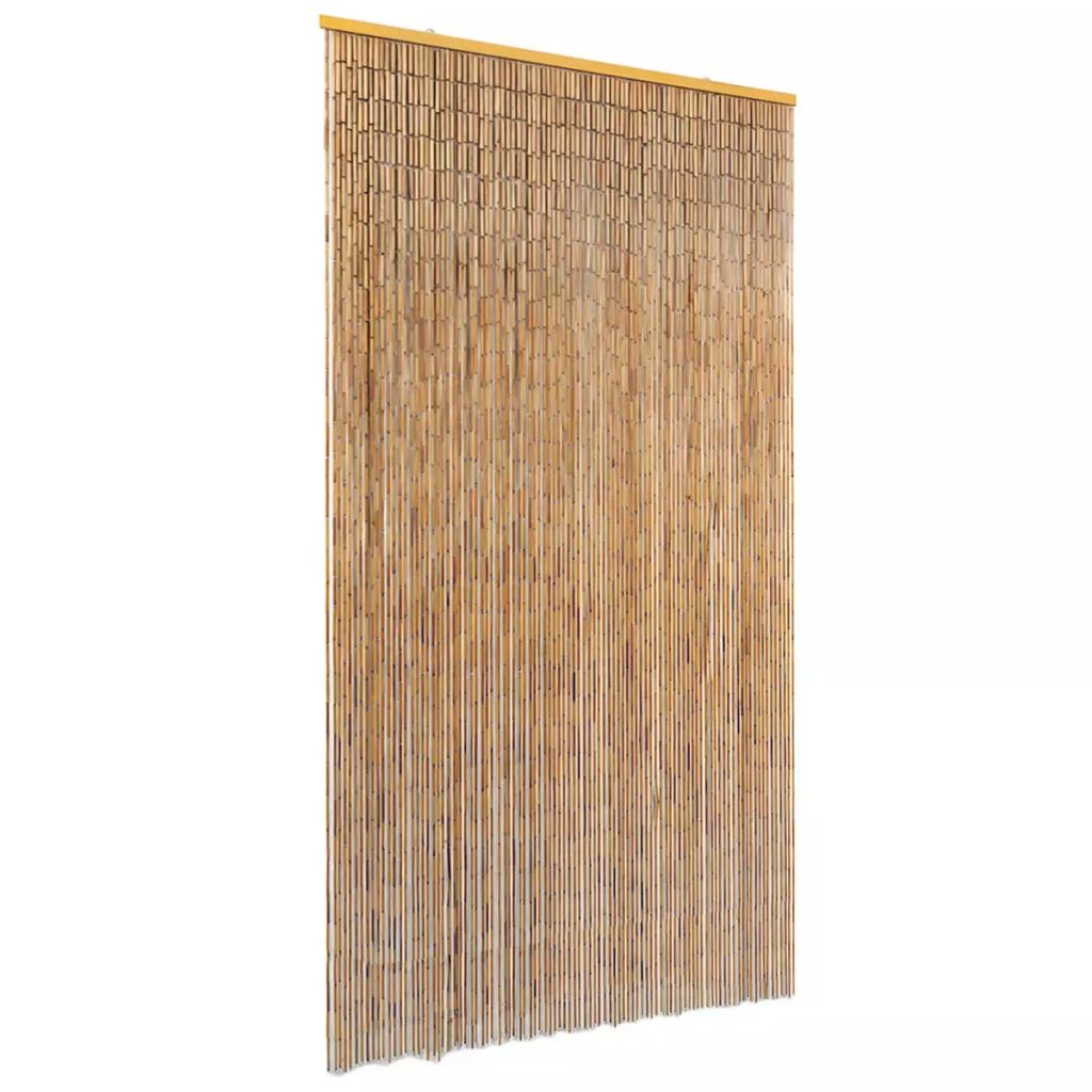 Insect Door Curtain Bamboo 100×220 cm 1