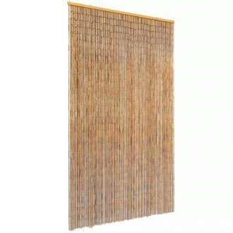 Insect Door Curtain Bamboo 120×220 cm 1