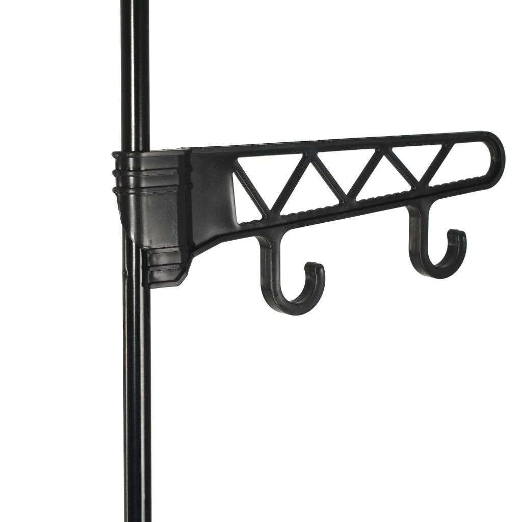 Clothes Rack Steel and Non-woven Fabric 55×28