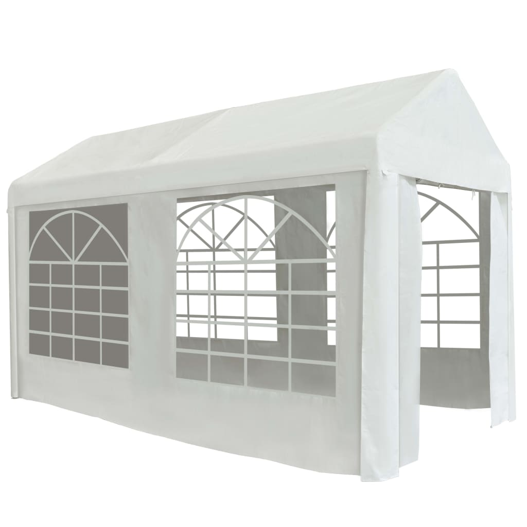 Party Tent PE 2x4 m White
