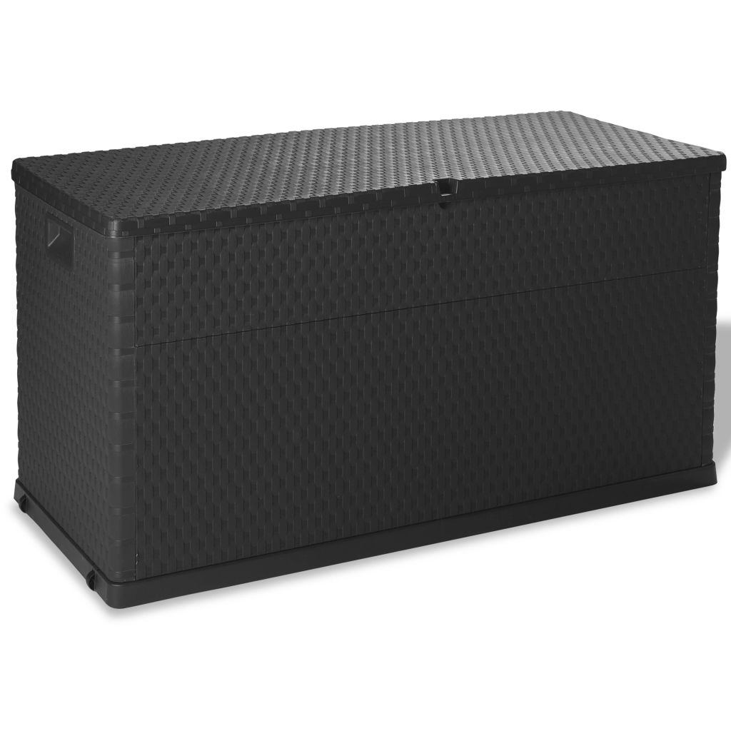 Garden Storage Box Anthracite 120x56x63 cm 1