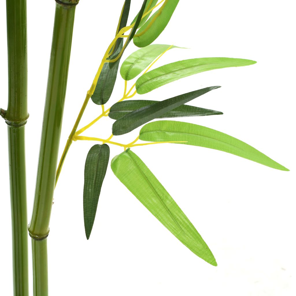 Artificial Bamboo Plant with Pot 175 cm Green 2