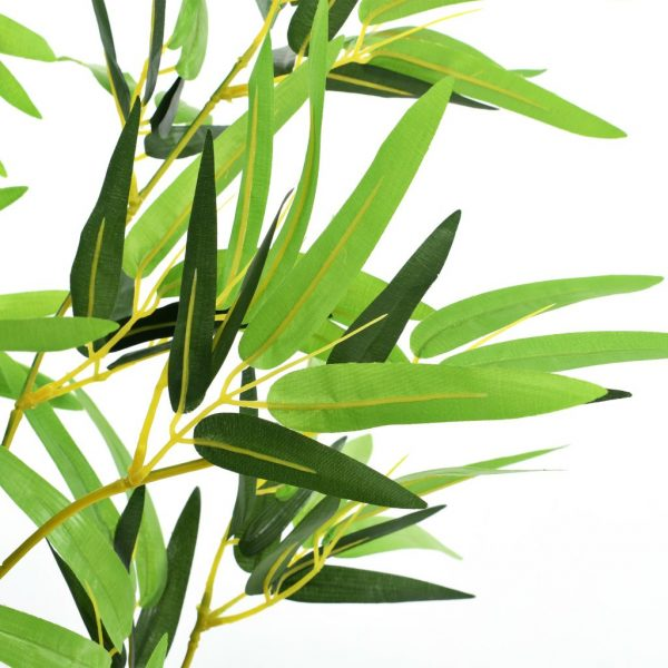 Artificial Bamboo Plant with Pot 175 cm Green 3