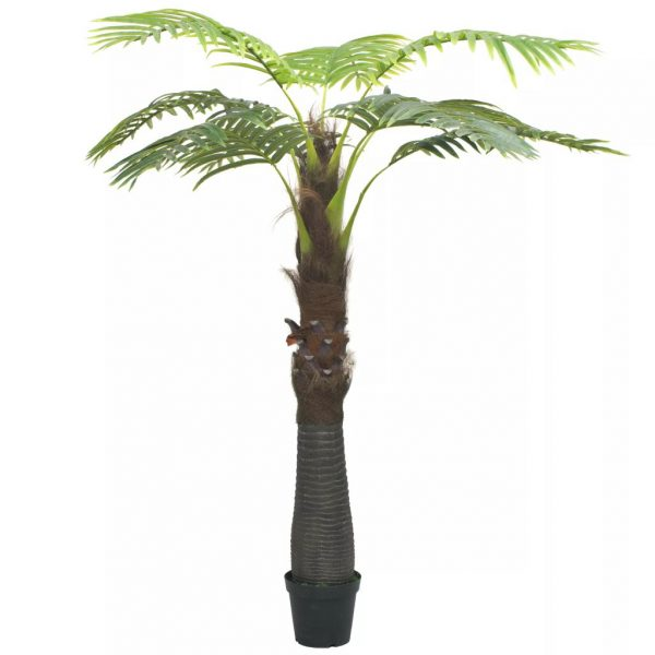 Artificial Palm Tree with Pot 240 cm Green 1