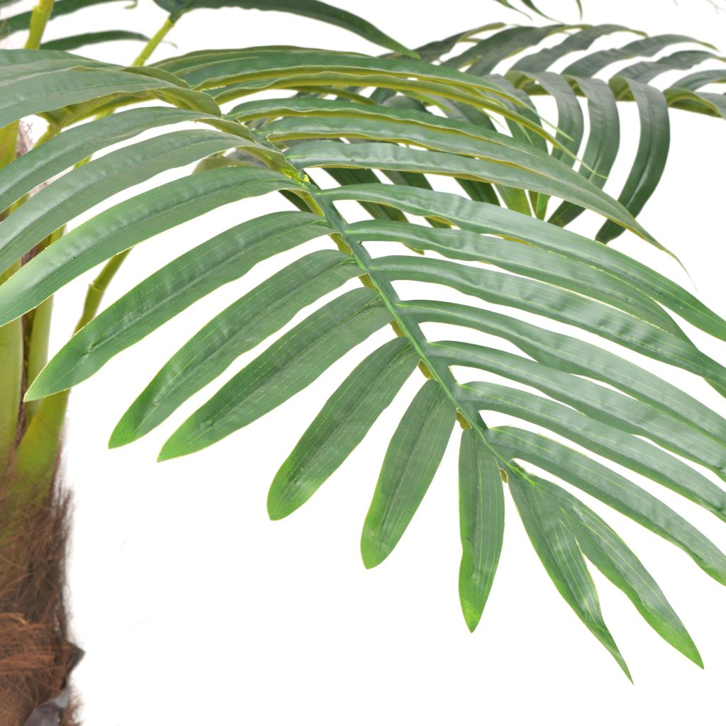 Artificial Palm Tree with Pot 240 cm Green 2