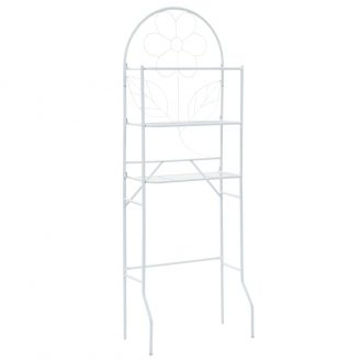 Toilet Rack White 60x33x174 cm 1