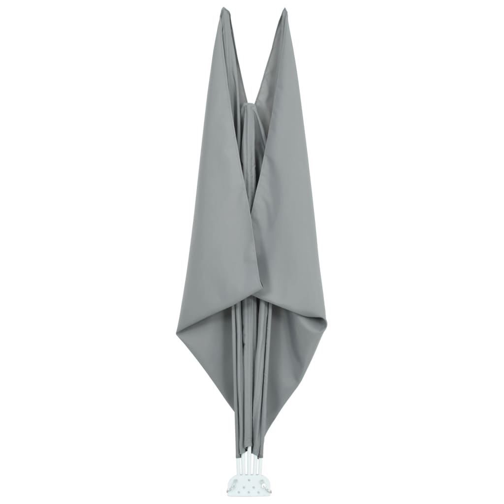Collapsible Terrace Side Awning Grey 300×200 cm 7