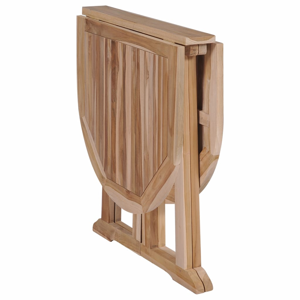 Folding Butterfly Garden Table 120x70x75 cm Solid Teak Wood 5