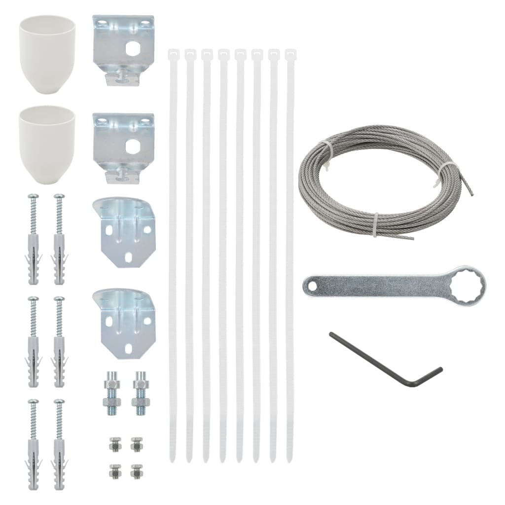 29 Piece Balcony Screen Accessory Set