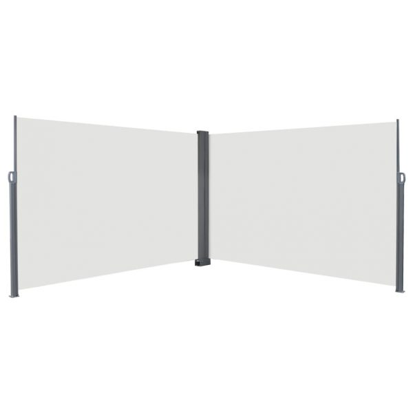 Retractable Side Awning 200×600 cm Cream 1