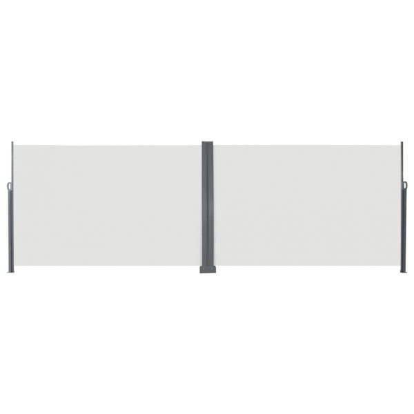 Retractable Side Awning 200×600 cm Cream 2