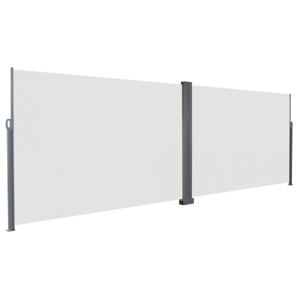 Retractable Side Awning 200×600 cm Cream 3