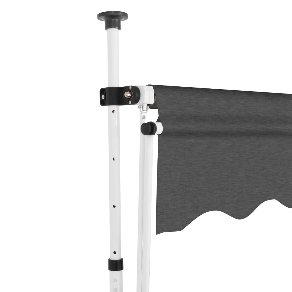 Manual Retractable Awning 200 cm Anthracite 3