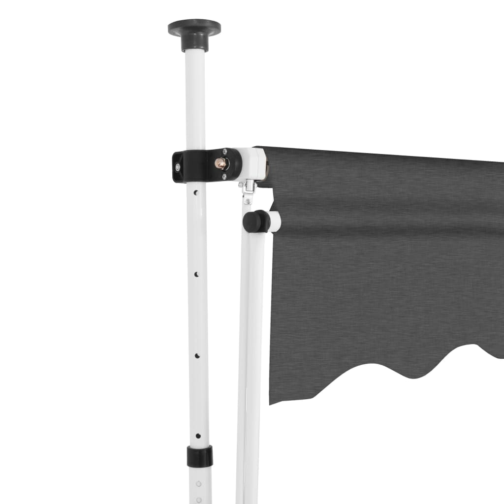 Manual Retractable Awning 350 cm Anthracite 3