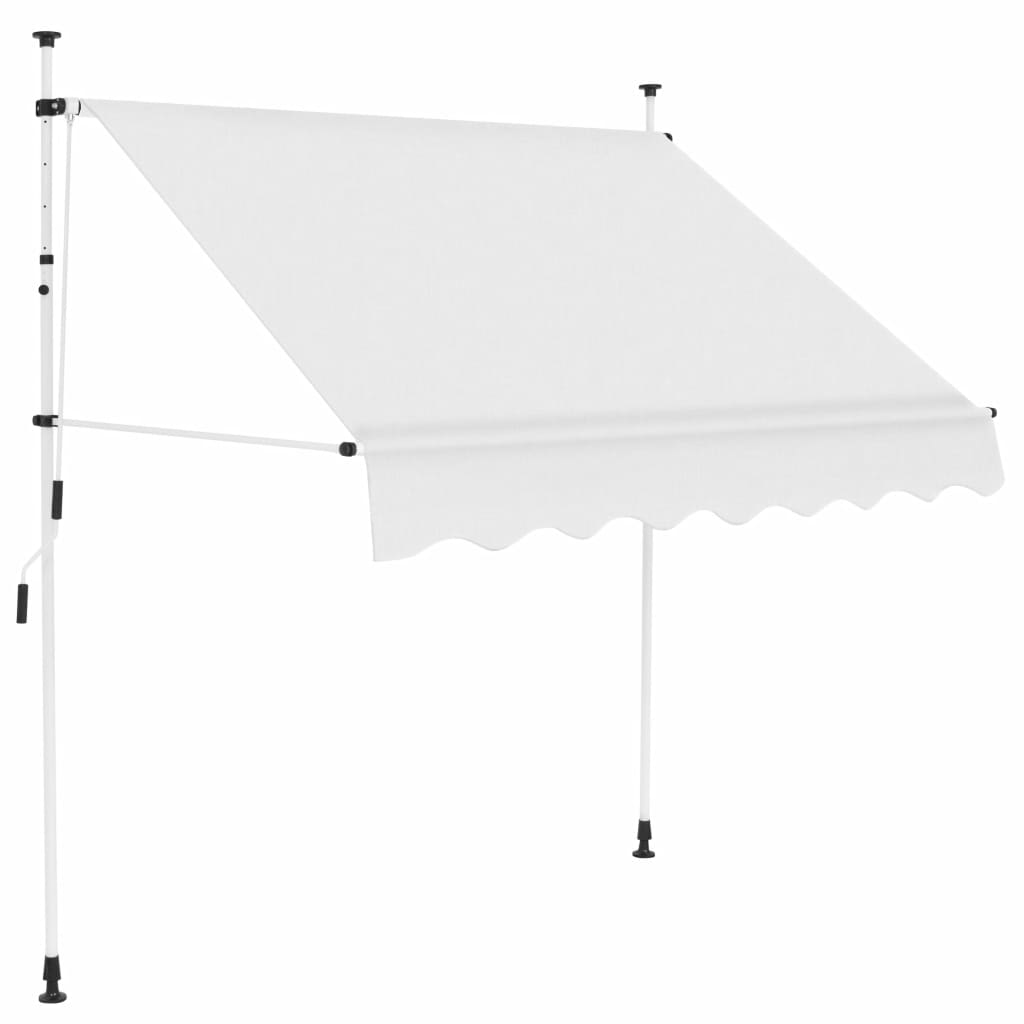 Manual Retractable Awning 200 cm Cream 1