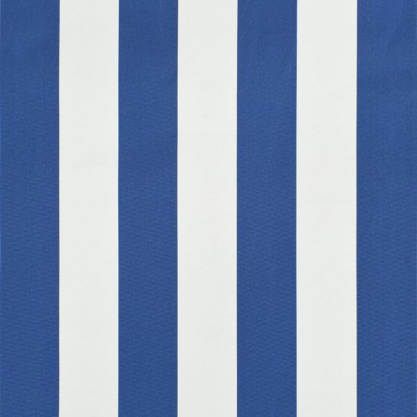 Bistro Awning 200×120 cm Blue and White 3