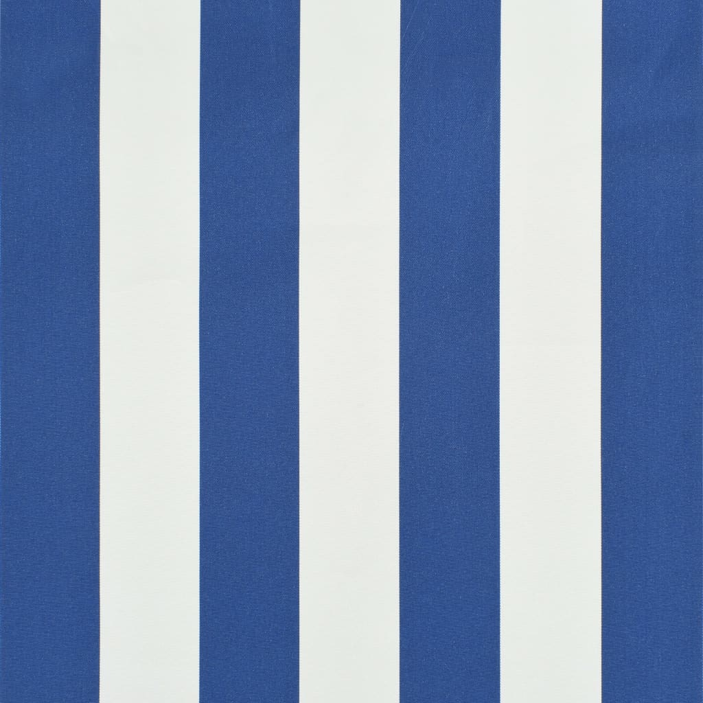 Retractable Awning 200×150 cm Blue and White 2