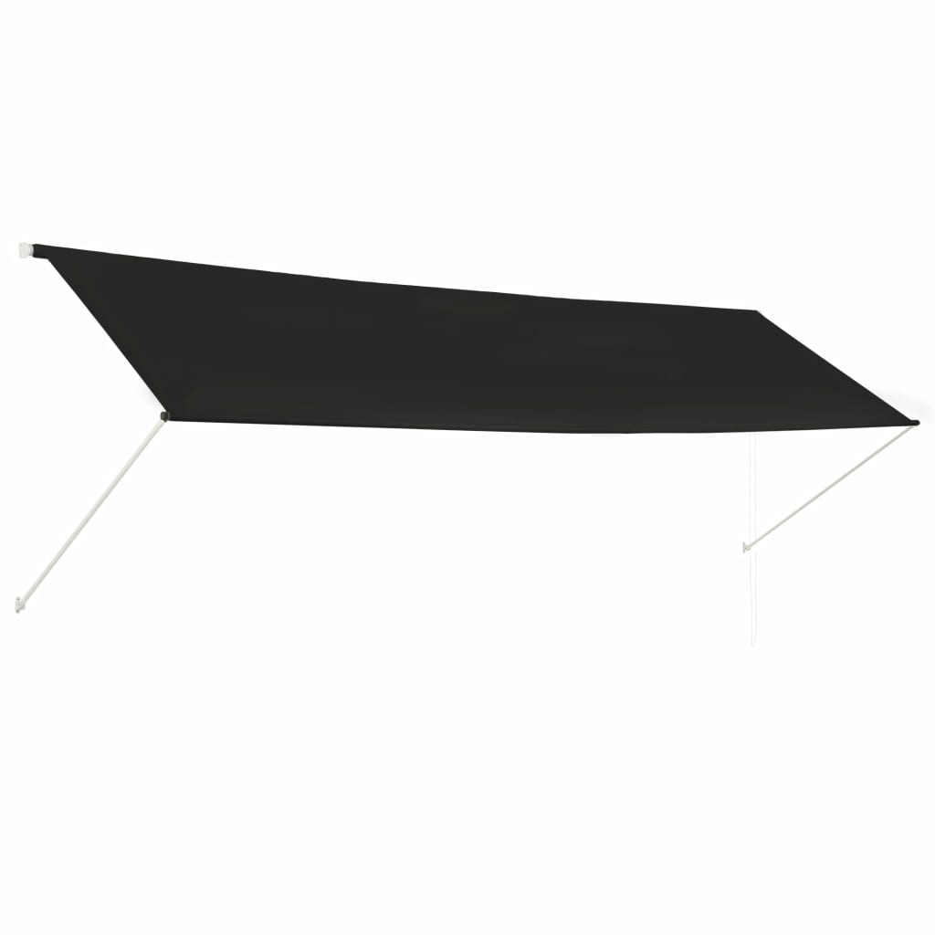 Retractable Awning 400×150 cm Anthracite 1