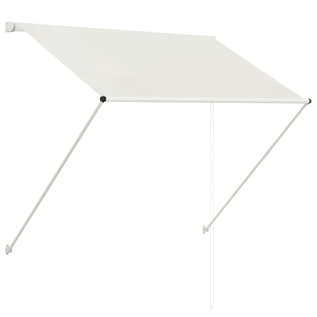 Retractable Awning 150x150 cm Cream