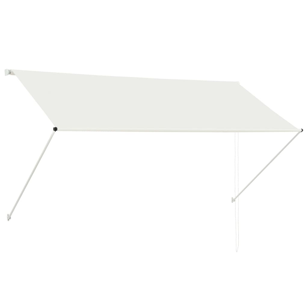 Retractable Awning 250x150 cm Cream