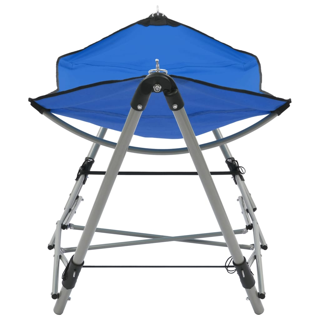 Hammock with Foldable Stand Blue 2