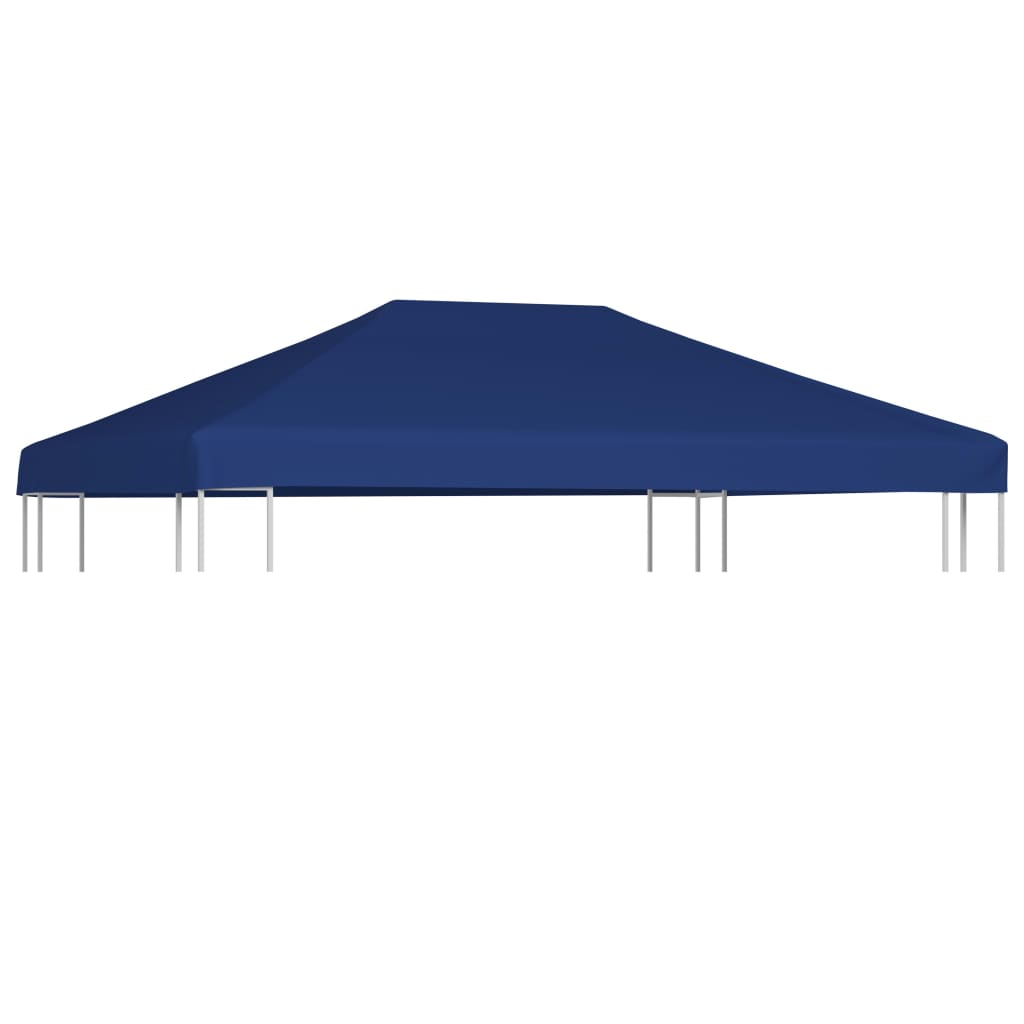 Gazebo Top Cover 310 g/m² 4x3 m Blue