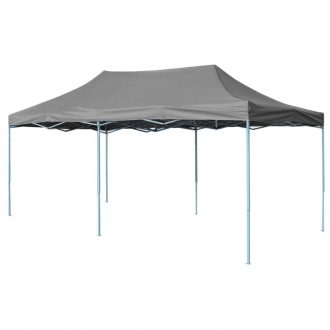 Folding Pop-up Partytent 3×6 m Anthracite 1