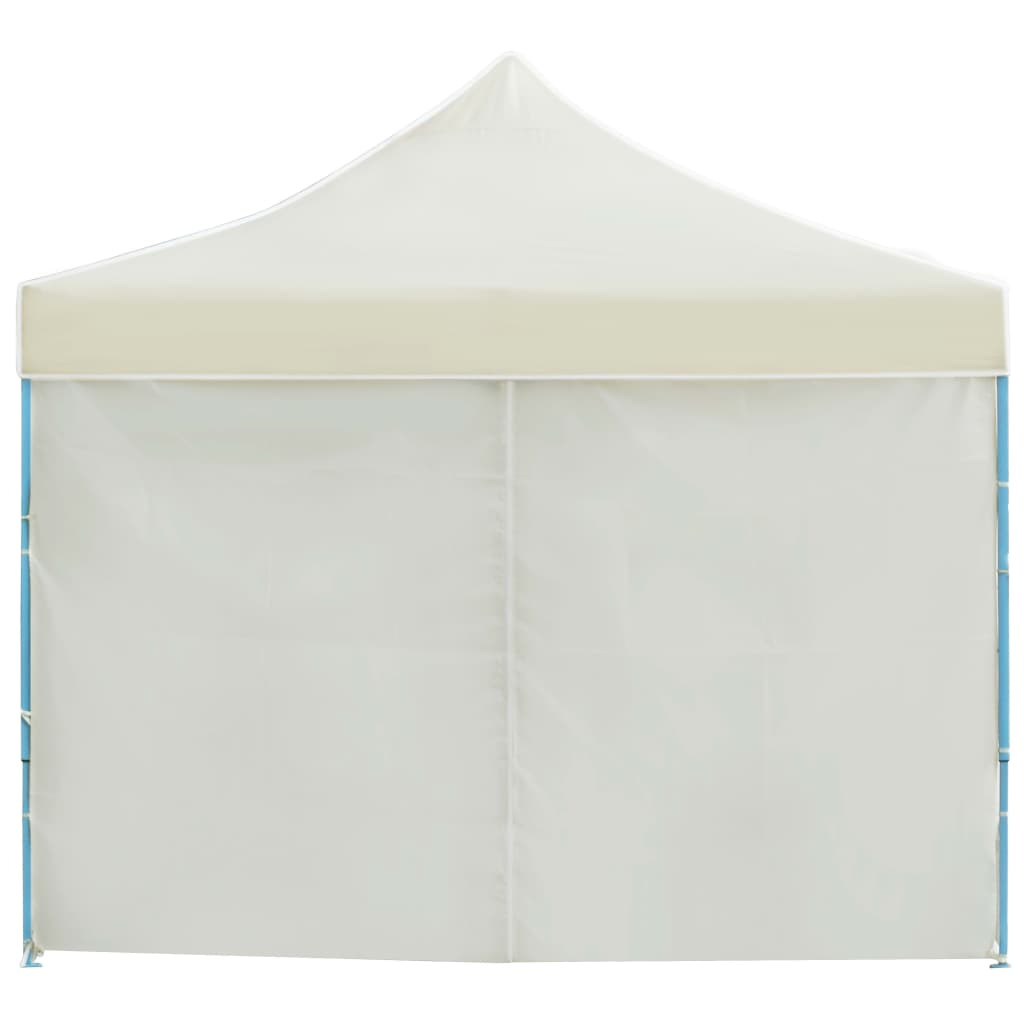Folding Pop-up Party Tent with 8 Sidewalls 3×9 m Cream 6