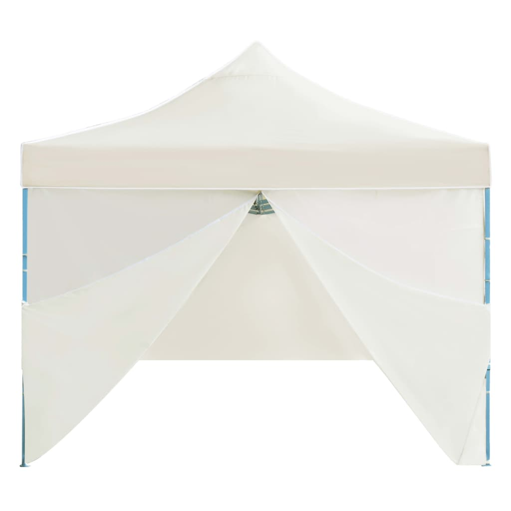 Folding Pop-up Party Tent with 8 Sidewalls 3×9 m Cream 7