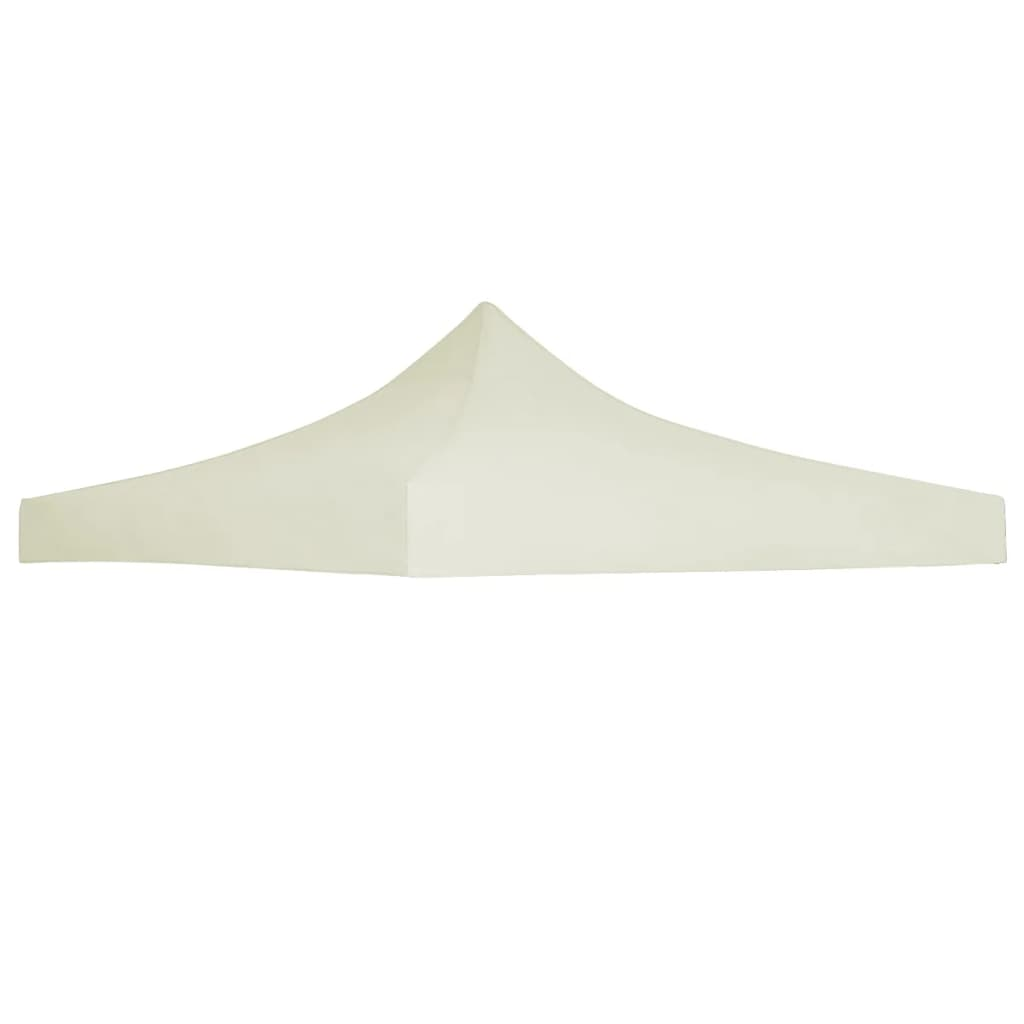 Party Tent Roof 3×3 m Cream 1
