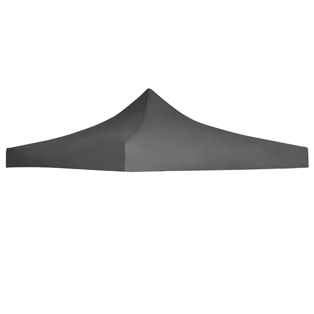 Party Tent Roof 3×3 m Anthracite 1