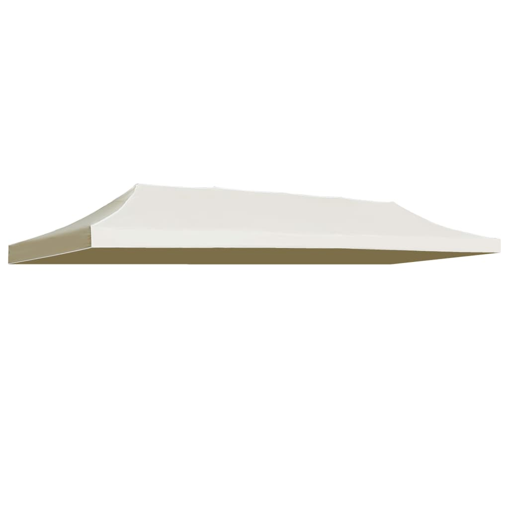 Party Tent Roof 3×6 m Cream 1