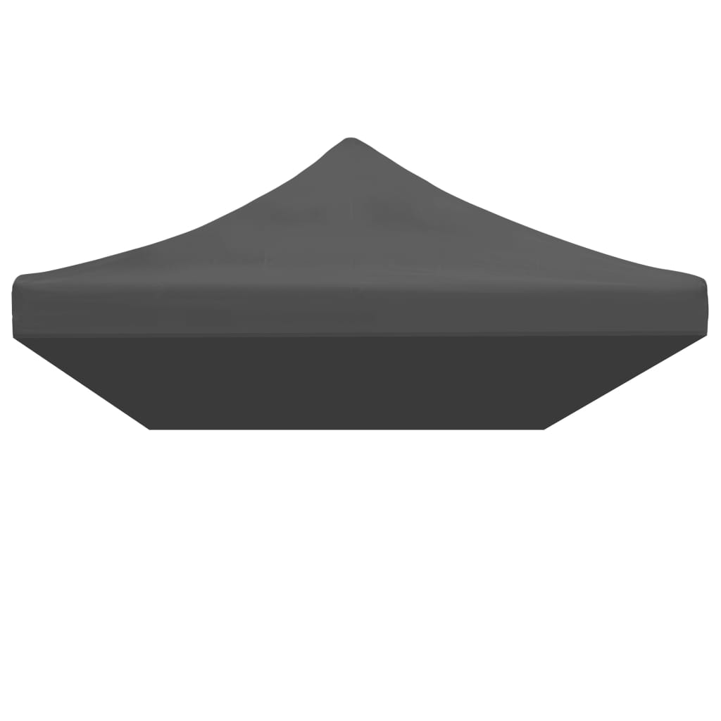 Party Tent Roof 3×6 m Anthracite 3