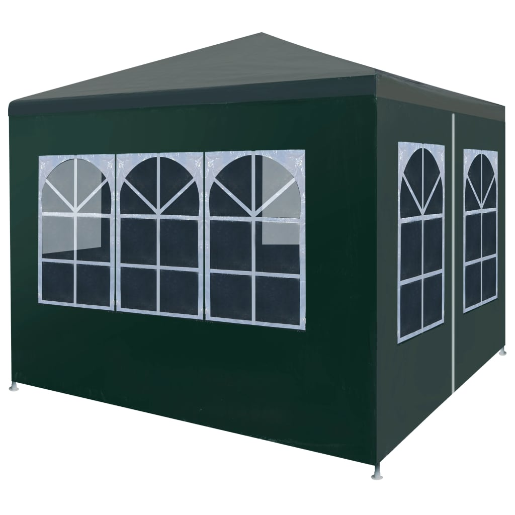 Party Tent 3×3 m Green 1