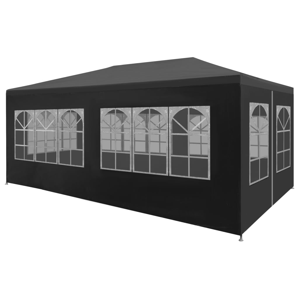 Party Tent 3×6 m Anthracite 1